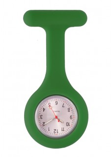 Silicone Nurses Fob Watch Standard Dark Green