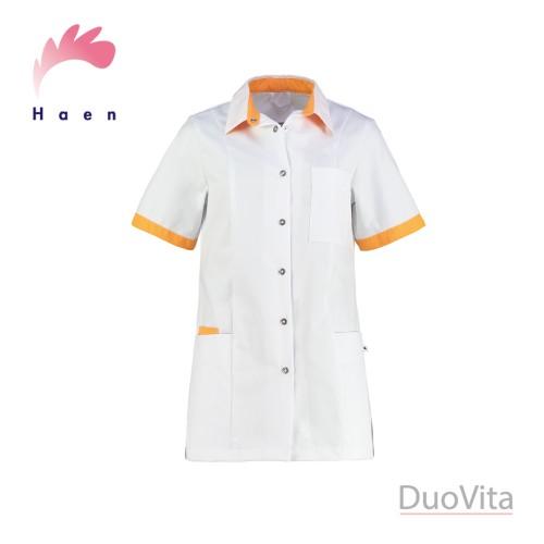 Haen Nurse Uniform Fijke White/Teredo Sun