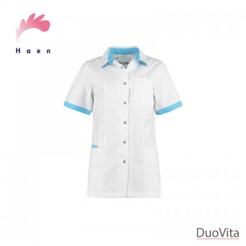 Haen Nurse Uniform Fijke White/Magic Azur