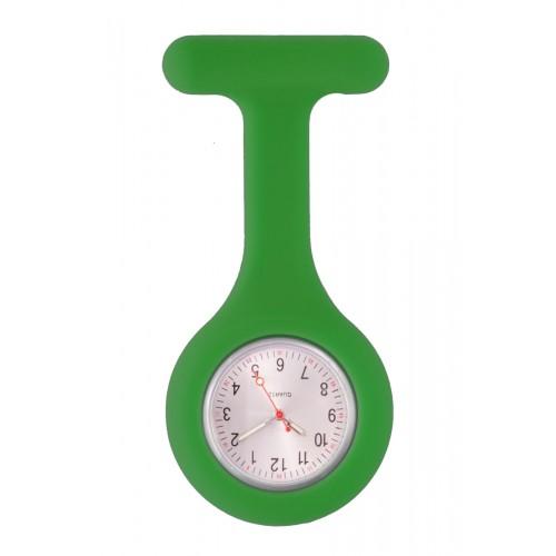 Silicone Nurses Fob Watch Standard Green