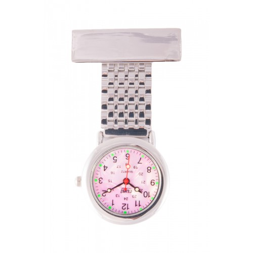 Jururawat Nurses Fob Watch Pink