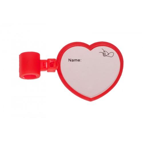 Stethoscope Name Badge Heart