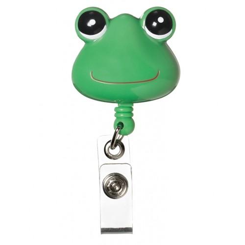 Deluxe Retracteze ID Holder Frog