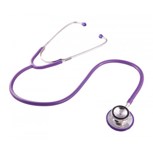 Stethoscope Basic Dual Purple