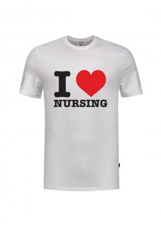 T-Shirt I love Nursing White