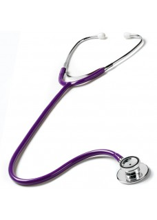 Dual Head Stethoscope Purple
