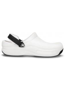 OUTLET: size 9/10 Crocs Bistro Pro White