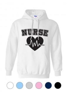 Gildan Hoodie Nurse ECG