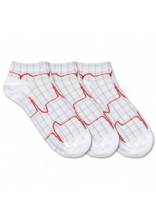 Nurse Socks Heartbeat 3-pack