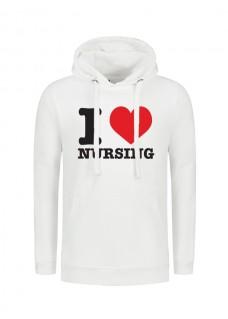 Hoody Love Nursing White