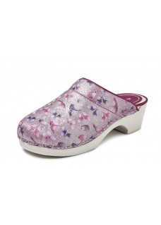LAST CHANCE: size 4 Bighorn Butterfly Pink PU