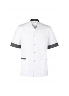 Haen Nurse Uniform Floris White/Charcoal