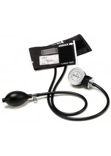 Premium Pediatric Aneroid Sphygmomanometer with Carry Case Black