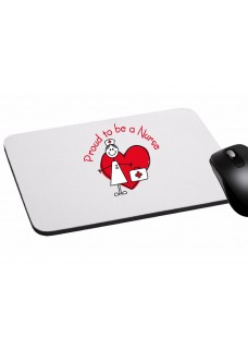 Mouse Pad Proud to be a Nurse
