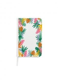 Notebook A5 Tropical Leaves