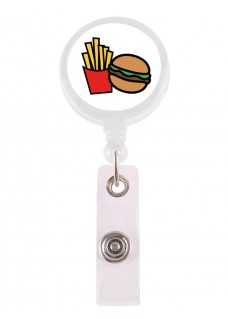 Retracteze ID Holder Hamburger