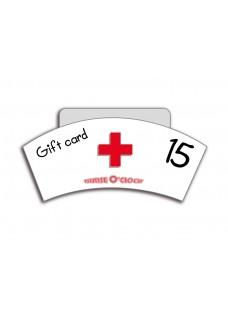 Gift Voucher NurseO'Clock £15