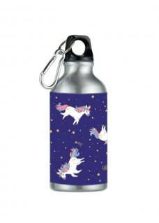 Drink Bottle Unicorn Silver
