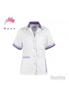 Haen Nurse Uniform Bente White Purple