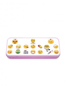 Metal Stationary Case Emoji