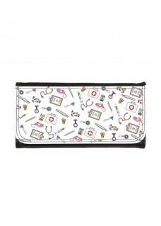 Ladies Luxe Wallet Medical Symbols