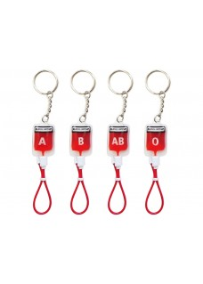 Key Chain Blood Group