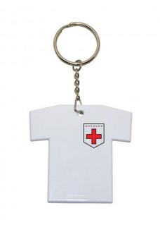 Key Chain T-Shirt Cross