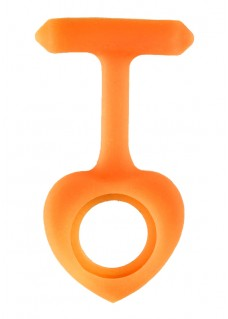 Silicone Cover Heart Orange
