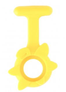 Silicone Cover Spring Flower Yellow