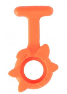 Silicone Cover Spring Flower Orange