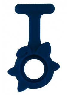 Silicone Cover Spring Flower Navy Blue