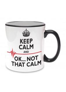 Mug Not That Calm Black