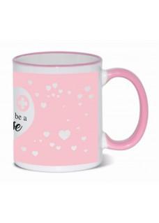 Mug Proud to be a Nurse 3 Pink