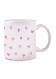 Mug Pink Hearts