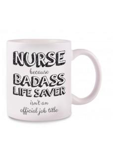 Mug Nurse Badass