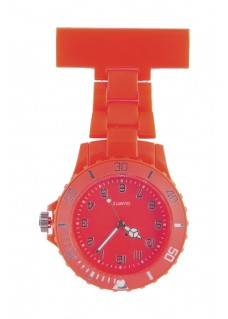Neon Nurses Fob Watch Red