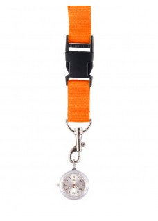 Lanyard Watch Orange