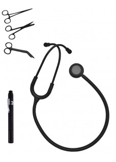 Hospitrix Instruments Kit Stealth Black Free Engraving