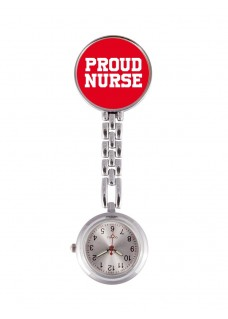 OUTLET Fob Watch Proud Nurse