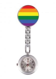 Fob Watch Rainbow