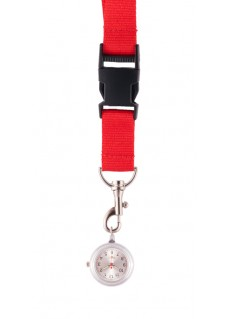 Lanyard Watch Red