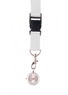 Lanyard Watch White