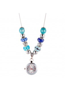 Necklace Watch Beads Pearl Turquoise
