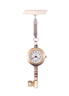 Fob Watch Classical Key Bronze