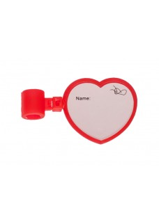 Stethoscope Name Badge Heart
