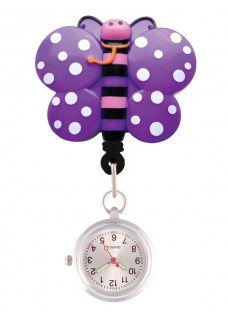 Retracteze Fob Watch Butterfly