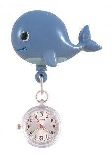 Retracteze Fob Watch Whale