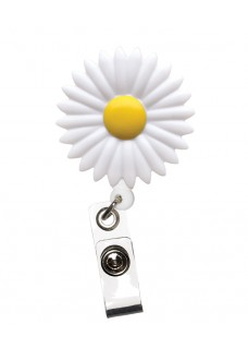 Deluxe Retracteze ID Holder Daisy