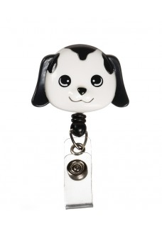 Deluxe Retracteze ID Holder Dog