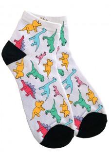 Women's Ankle Socks Little Dino's